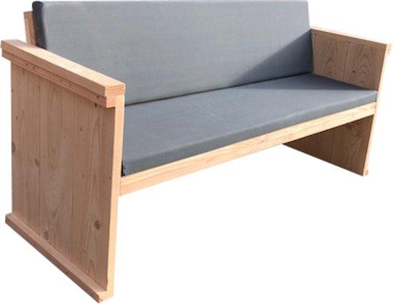 Kussens Voor Loungebank : J a loungebank steigerhout white wash diverse kleuren kussens