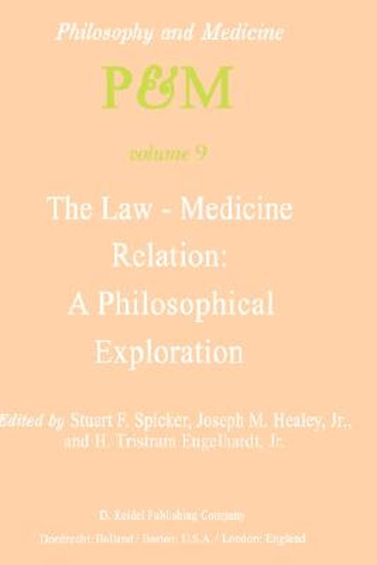 The Law-Medicine Relation