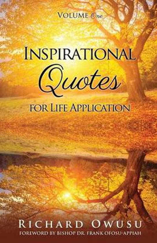 Bol Com Inspirational Quotes For Life Application Richard Owusu