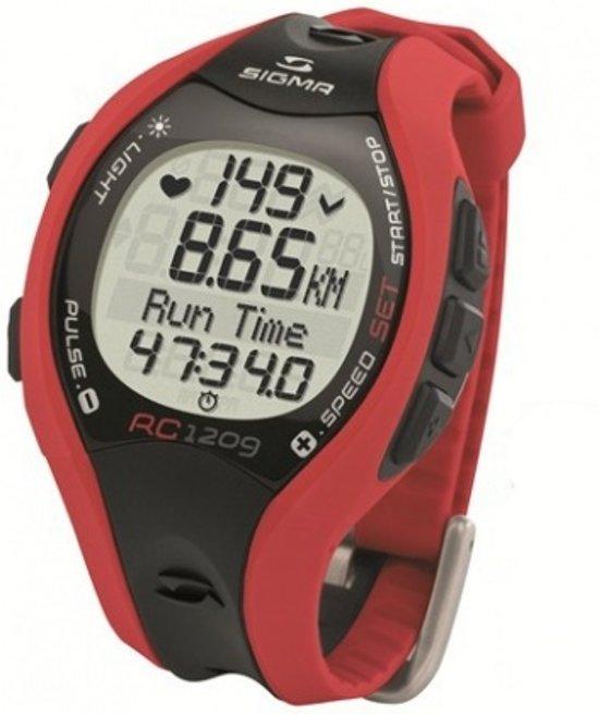 Sigma Rc 1209 Hartslagmeter 25101 Rood