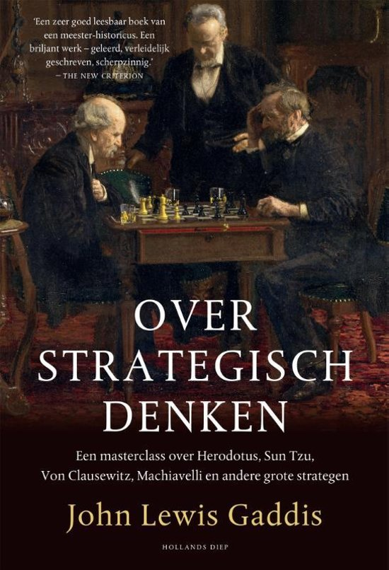 Boek cover Over strategisch denken van John Lewis Gaddis (Hardcover)