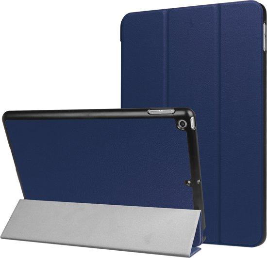 Mobigear Effen Smart Case Donker Blauw voor Apple iPad 9.7 inch (2018) / (2017)