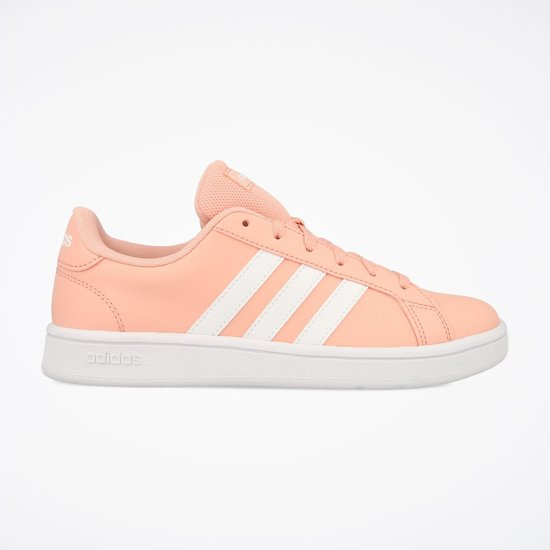 adidas Grand Court Base Dames Sneakers - Glow Pink/Ftwr White/Glow Pink -  Maat 4