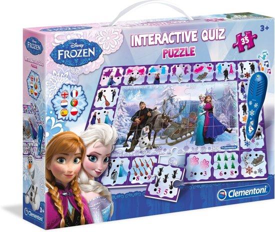 Interactieve Quiz Puzzle - Frozen
