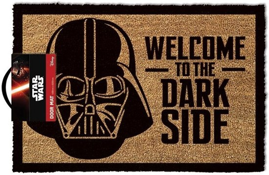 STAR WARS WELCOME TO THE DARKSIDE Doormats