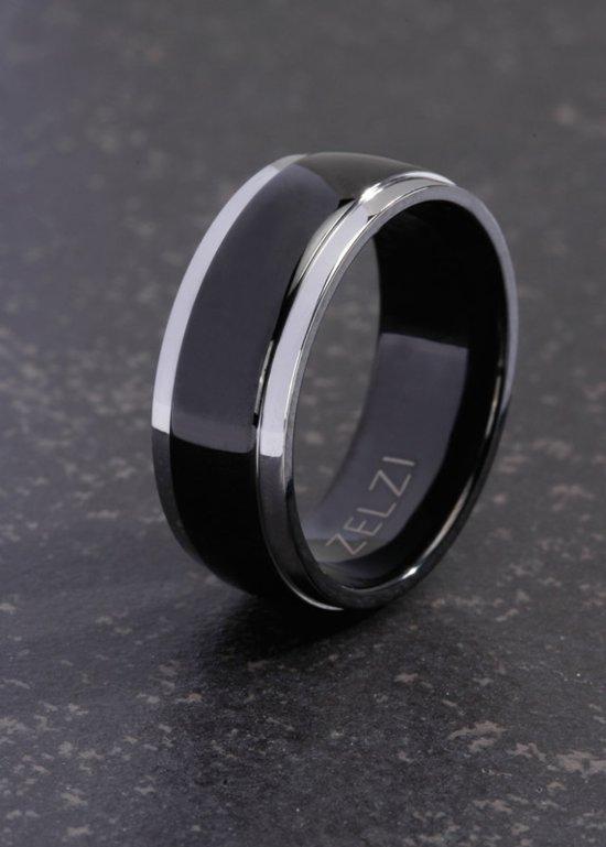 ZELZI Titanium ring: Leander 22 millimeter