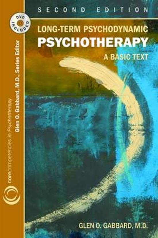 psychodynamic psychotherapy a clinical manual pdf