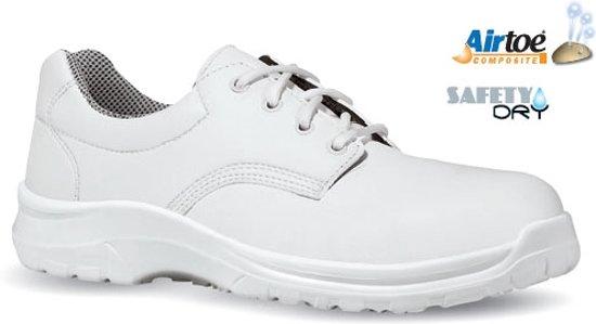 Antislip Werkschoenen Dames.Bol Com Dames Werkschoenen Upower Rebound S2 Wit 35