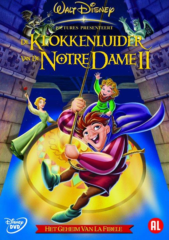 DVD cover van De Klokkenluider Van De Notre Dame 2: Het Geheim Van La Fidele