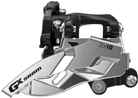 SRAM GX MTB voorderailleur zwart/zilver Uitvoering 36 tanden