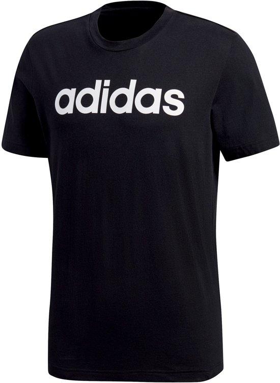 679768ea47e adidas Comm Linear T-shirt Heren Sportshirt - Maat S - Mannen - zwart/
