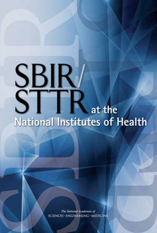 SBIR/STTR at the National Institutes of Health
