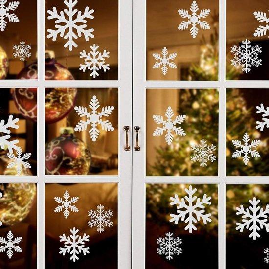 Stickers Voor Op Raam.Kerst Sneeuw Decoratie Raam Stickers Herbruikbaar