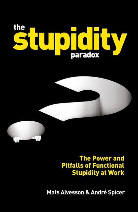 Bol The Stupidity Paradox Ebook Mats Alvesson
