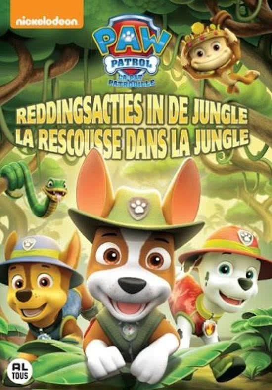 Paw Patrol - Volume 11: Reddingsacties in de Jungle