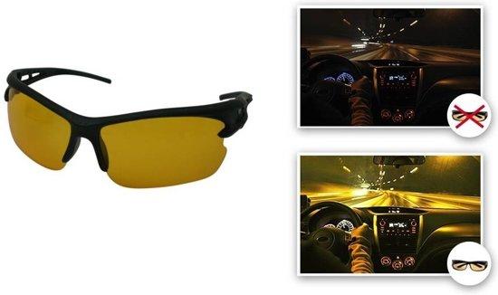 Nachtbril | beter zien | nachtblind | nachtzicht bril | Autobril | Mistbril