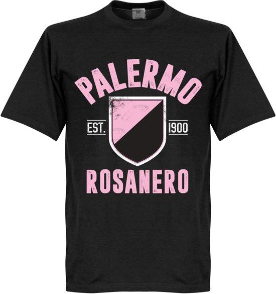Palermo Established T-Shirt - Zwart - XL