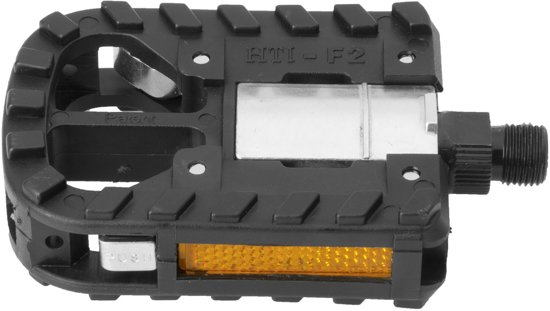 Exustar Vouwpedaal 9/16 as 95x69mm zwart