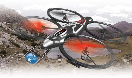 Jamara Quadrodrom Quadrocopter with Camera HD