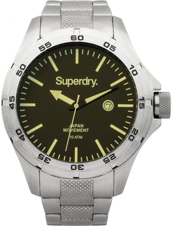Superdry adventurer SYG147USM Mannen Quartz horloge