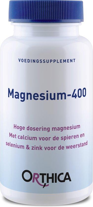 Orthica Magnesium 400 Voedingssupplement - 60 stuks