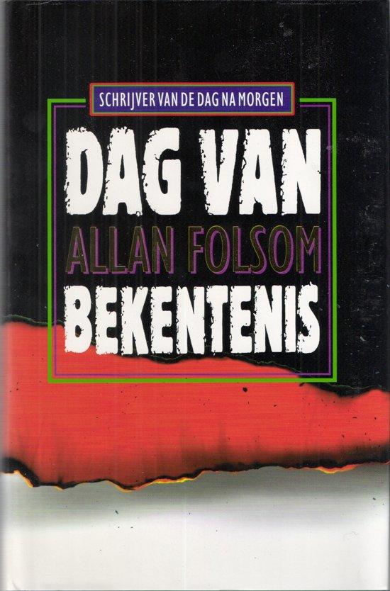 Boek cover Dag van bekentenis van Allan Folsom (Hardcover)