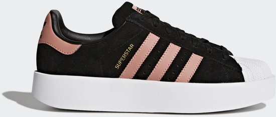 adidas sneakers dames superstar zwart