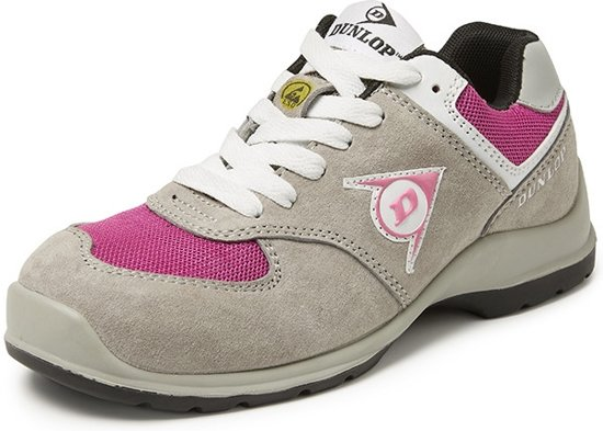 Dunlop Shoes Lady Arrow S3 Grijs Lage Veiligheidssneaker Dames 40