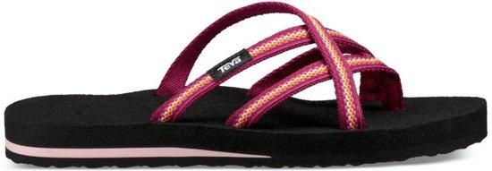 67abfe59556e Teva Olowahu Slippers - Maat 41 - Vrouwen - zwart roze geel