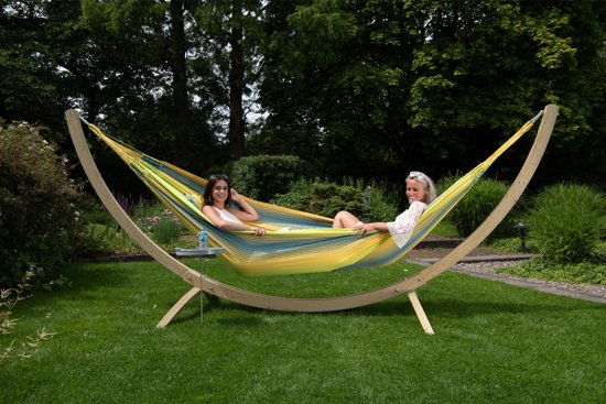 Hangmat met Standaard Familie 'Wood & Refresh' Cocktail