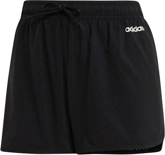 adidas Design 2 Move 3 Stripes Dames Short BlackWhite