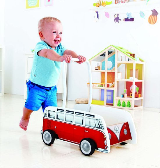 Hape Duwkar Volkswagen T1 Bus Rood