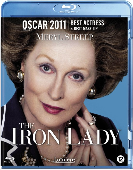 DVD cover van The Iron Lady (Blu-ray)
