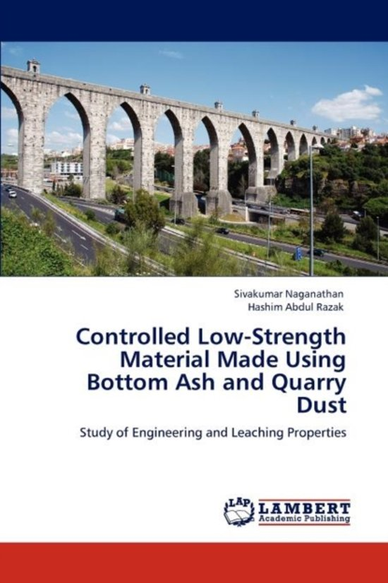 Bol Controlled Low Strength Material Made Using Bottom Ash And