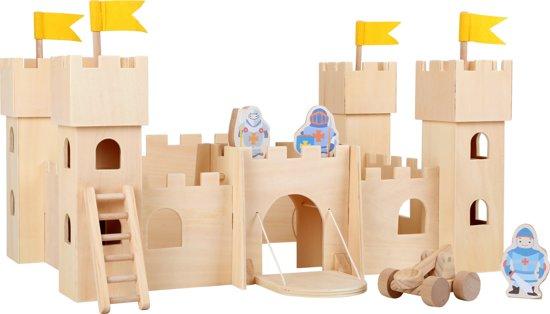 Het Legler Ridder kasteel van hout