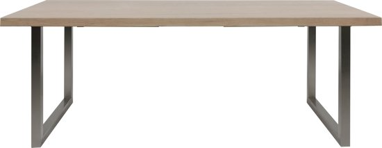 Eiken White Wash Tafel.Bol Com 24designs Tafel Mayson 200 X 90 Cm Eiken White Wash