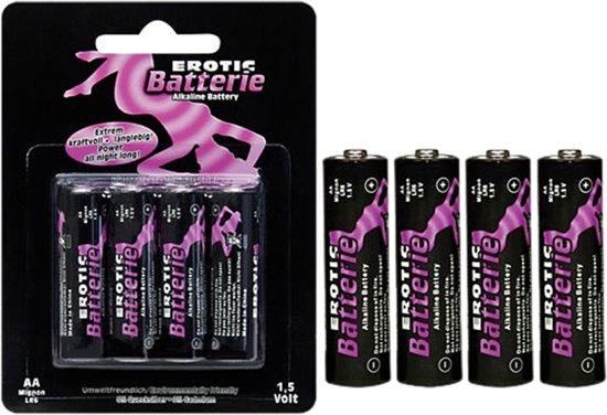 Batterijen AA 4 stuks