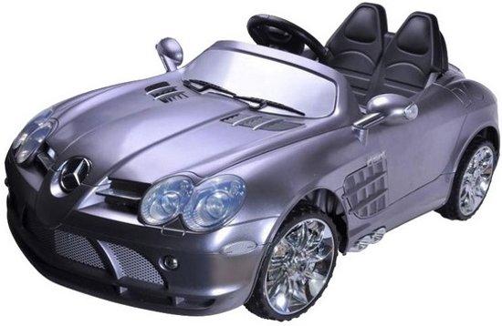 elektrische kinder accu auto mercedes slr 3x speed soft start merkloos speelgoed. Black Bedroom Furniture Sets. Home Design Ideas