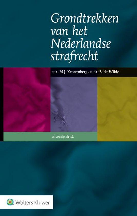 Boekomslag voor Grondtrekken van het Nederlandse strafrecht