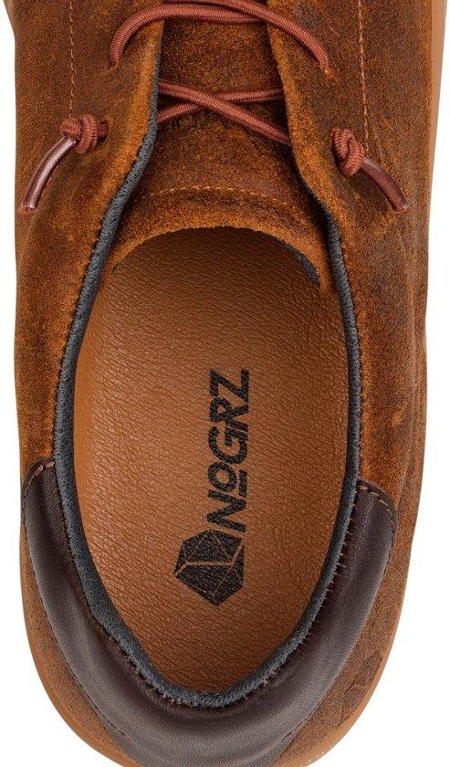 Leer vancampen Nogrz J Sneaker Cognac Maat Brushed 43 Heren XqwqZ7