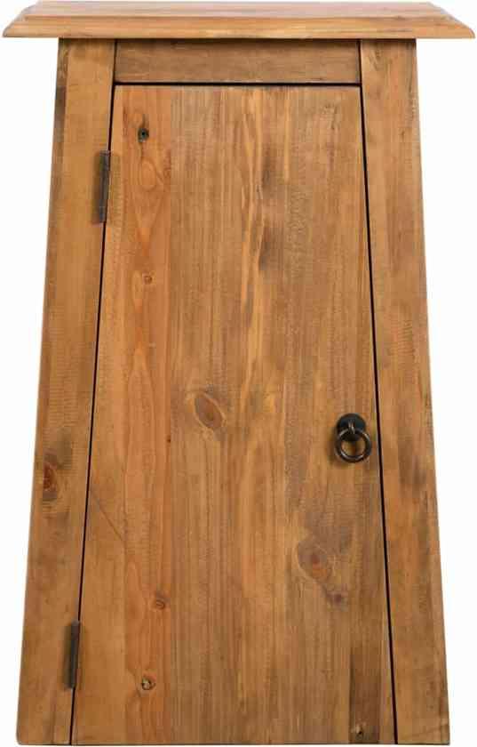 Badkamerkast Wastafelonderkast Wastafelkast Kast Voor Badkamer Deur Plank 42x23x70cm