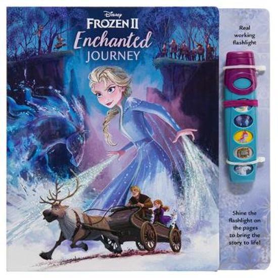 Frozen 2 Glow Flashlight Sound Book