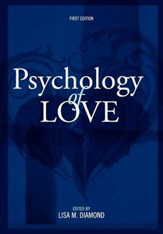 Psychology of Love (First Edition)