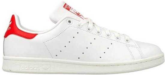 adidas stan smith heren rood