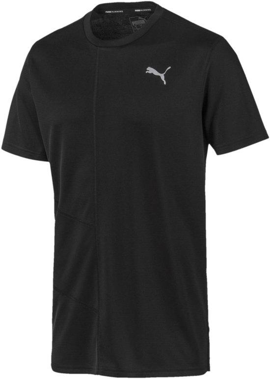 PUMA Ignite S/S Tee Sportshirt Heren - PUMA Black