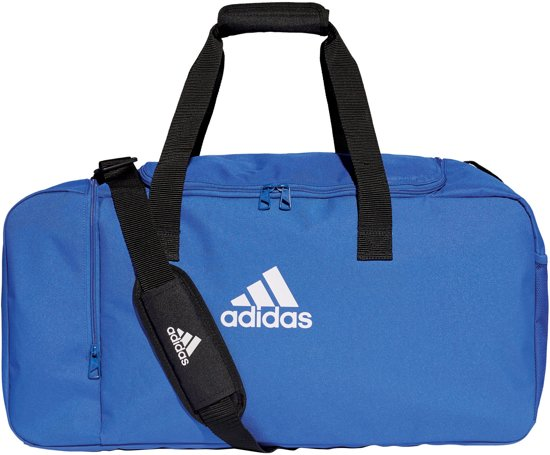 Adidas Tiro Duffel Bag Sporttas blauw 60 x 27 x 29cm