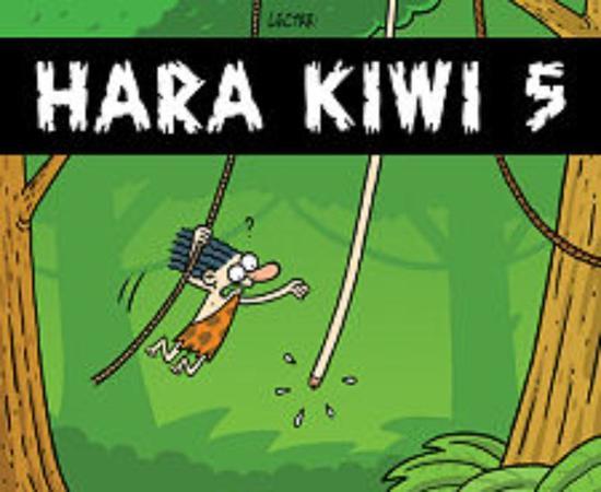 Cover van het boek 'Hara Kiwi / 5' van S. Degryse