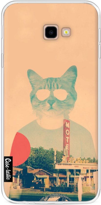 Casetastic Softcover Samsung Galaxy J4 Plus (2018) - Cool Cat