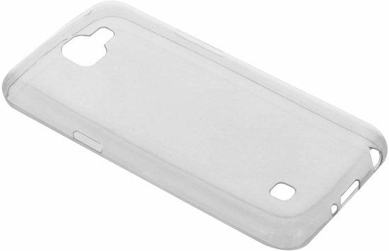 Ultra Thin Transparant Backcover LG K4 hoesje - Transparant