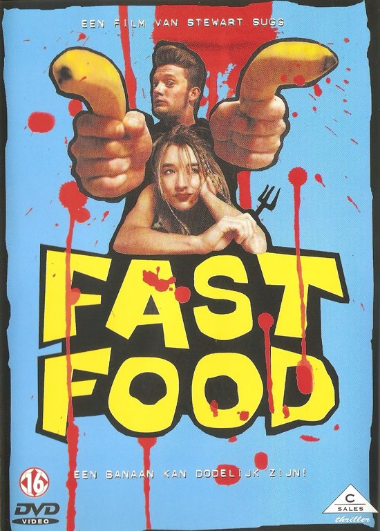 DVD cover van Fast Food
